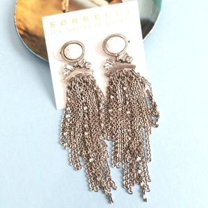 Sorrelli Breaker of Chains Earrings in White Howli
